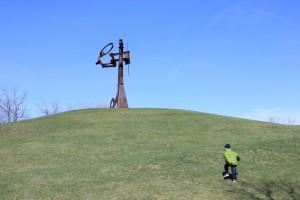 Bear Mt Trip Lu and Sam April2014 018