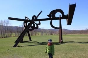 Bear Mt Trip Lu and Sam April2014 025